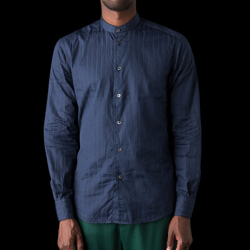Portera Clini Shirt in Navy