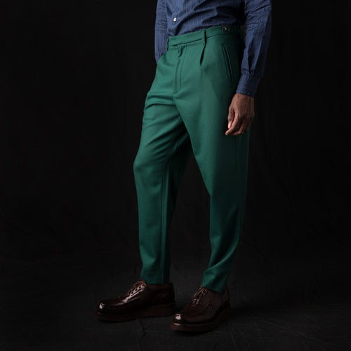 Masco Frare Trouser in Verde