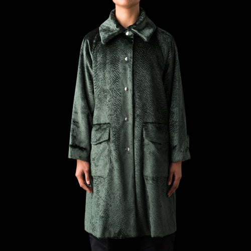 Lu Astra Coat in Verde
