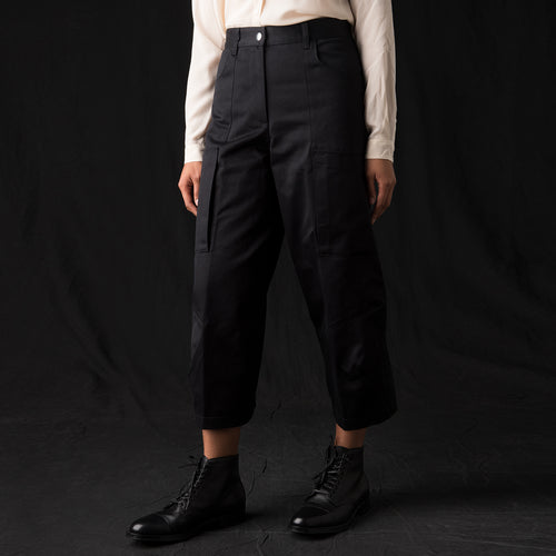 Ambra Varotto Trouser in Nero