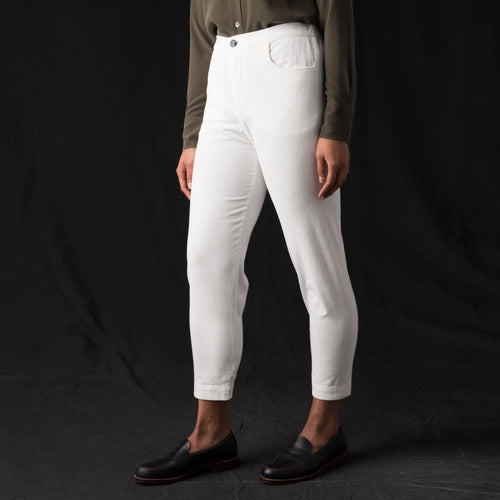 Dana Fuga Trouser in Avorio