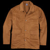 Grei. - Aviator Nylon Coach Jacket in Amber