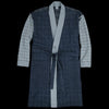 Grei. - Suiting Panel Robe in Patchwork