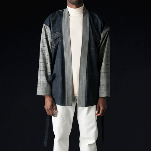 Suiting Karate Jacket in Patchwork