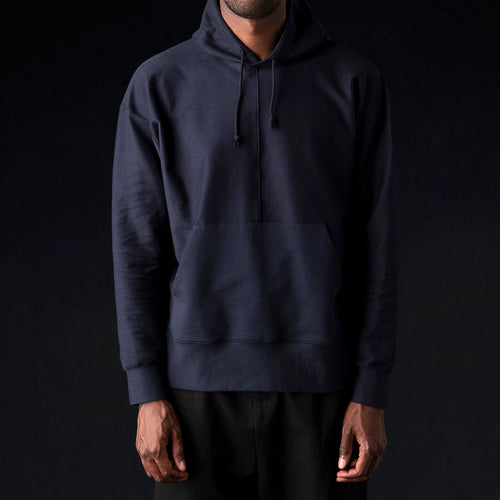 Ultra Fine Terry The Big Hoodie in Midnight Blue