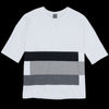 Grei. - The Big Tee with Patchwork in White