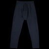 Grei. - Ultra Fine Terry Drop Rise Sweat Pant in Midnight Blue
