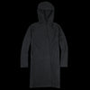 Evam Eva - Press Wool Hooded Coat in Charcoal