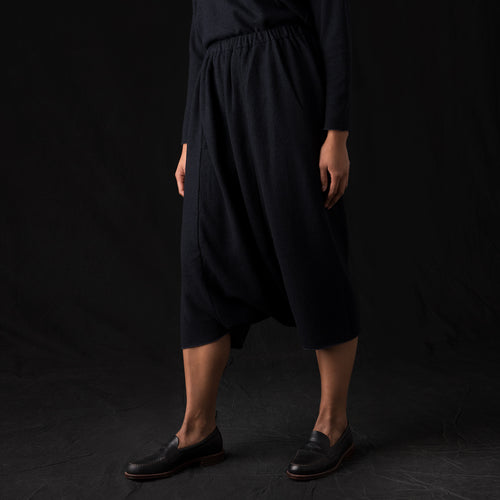 Press Wool Sarrouel Pant in North Sea