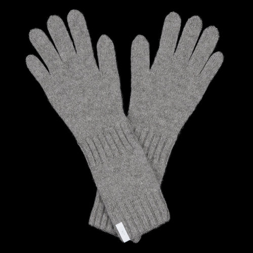 Cashmere Seamless Gloves in Mocha
