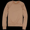 Save Khaki - Supima Fleece Crew Sweatshirt in Squash