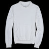 Save Khaki - Supima Fleece Mock Neck Sweatshirt in White