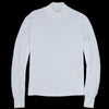 Save Khaki - Long Sleeve Heavy Supima Mock Neck Tee in White