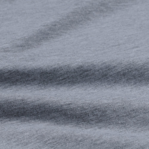 Heather Layer Crew in Heather Grey