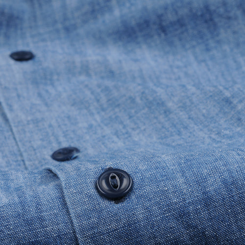 Indigo Chambray Haven Shirt in Chambray