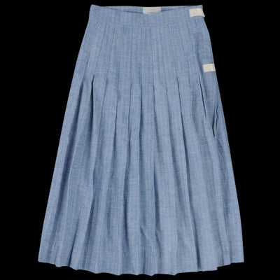 W'menswear - Herringbone Kilt in Blue