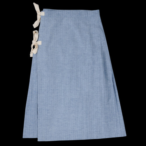 Herringbone Kilt in Blue