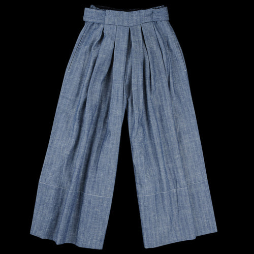 Herringbone Culotte in Blue