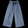 W'menswear - Herringbone Culotte in Blue