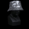 Albertus Swanepoel - Martin Grey Wool Bucket Hat with Clear Overlay