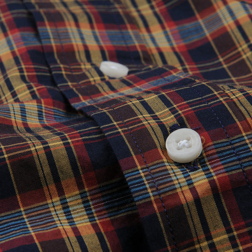 Plaid Button Down Shirt in Minersville