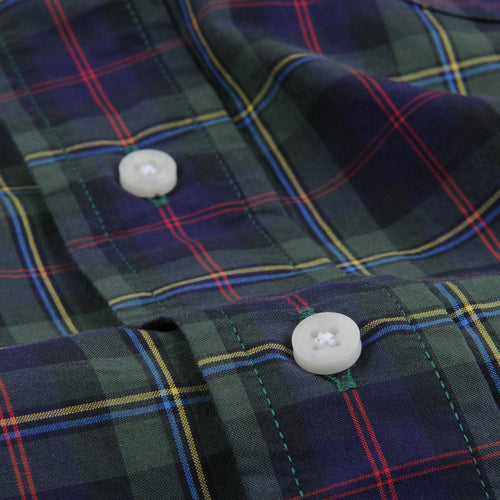 Plaid Button Down Shirt in Echo Valley