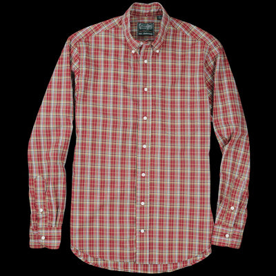 Gitman Vintage - Plaid Button Down Shirt in Pottsville