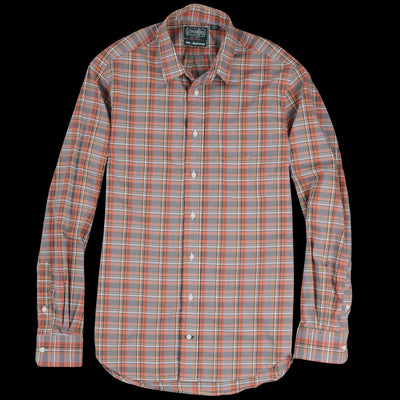 Gitman Vintage - Plaid Key Collar Shirt in Frackville