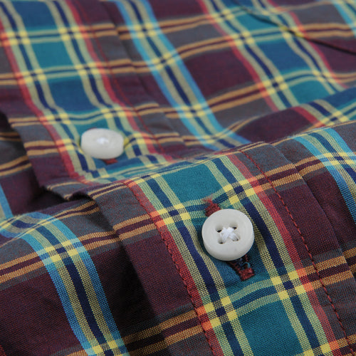 Plaid Key Collar Shirt in Ashland