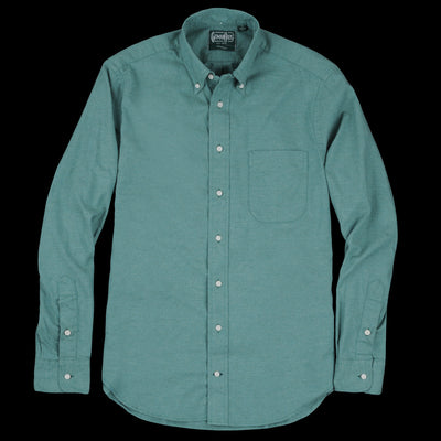 Gitman Vintage - Flannel Button Down Shirt in Green