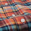 Gitman Vintage - Plaid Flannel Button Down Shirt in Burnt Orange