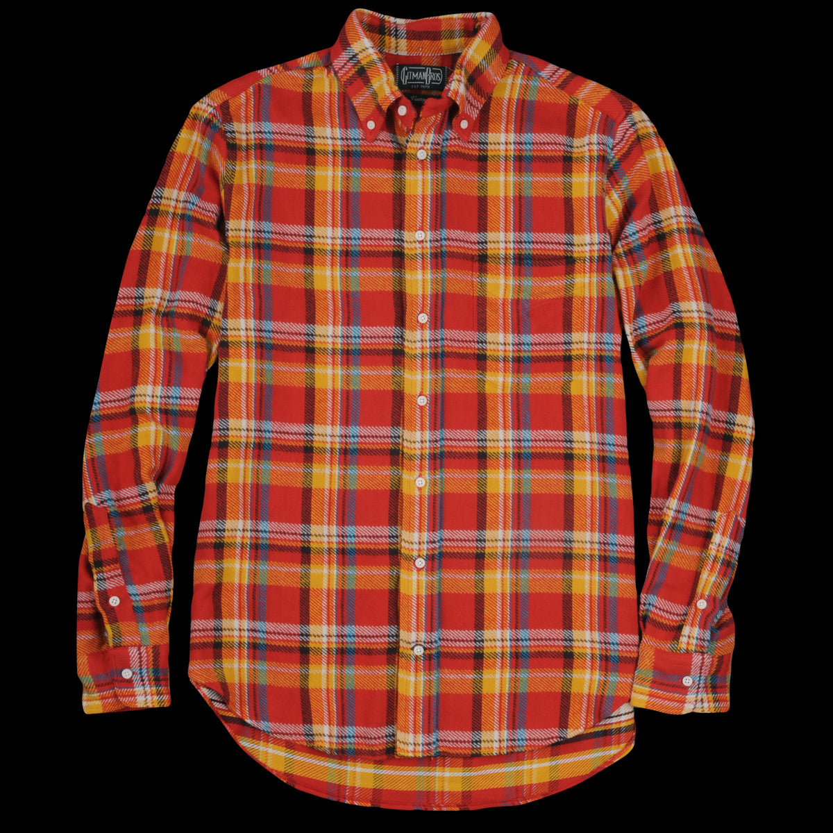 4a4967ebedb Gitman Vintage - Triple Yarn Flannel Button Down Shirt Utah - UNIONMADE