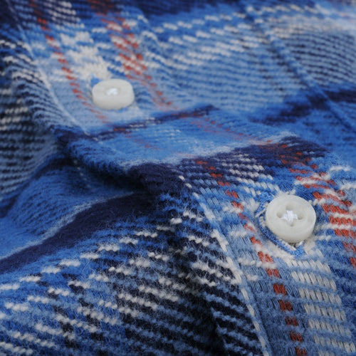 Triple Yarn Flannel Button Down Shirt Idaho