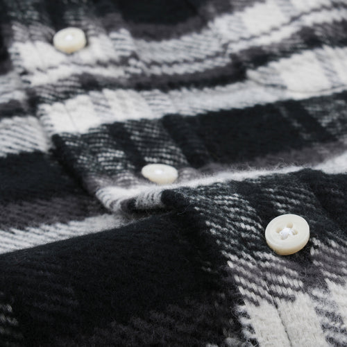Triple Yarn Flannel Button Down Shirt Colorado