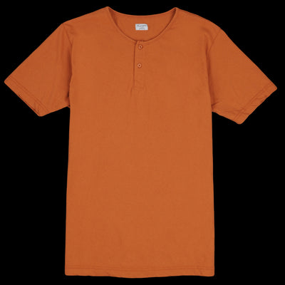 Homespun Knitwear - Tennessee Jersey Great Plains Tee in Rust