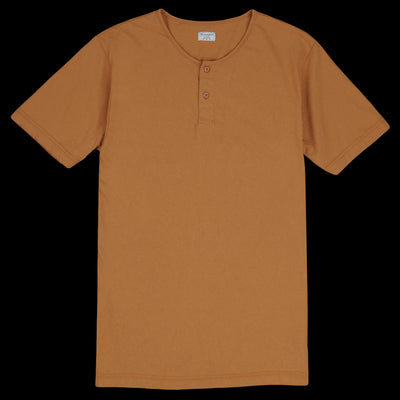 Homespun Knitwear - Tennessee Jersey Great Plains Tee in Tobacco