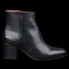 Woman by Common Projects - Zip Ankle Boot in Black Leather