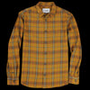 Corridor - Autumn Plaid LS Shirt in Mustard