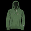 Champion Reverse Weave - Hooded Sweatshirt in Deep Pine Green