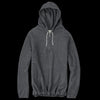 De Bonne Facture - Organic Cotton Fleece Half Zip Hoodie in Grey