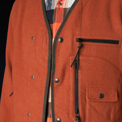 Eastlogue - D-Pocket Jacket in Salmon