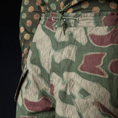 Eastlogue - Fishtail Pant in German Camo