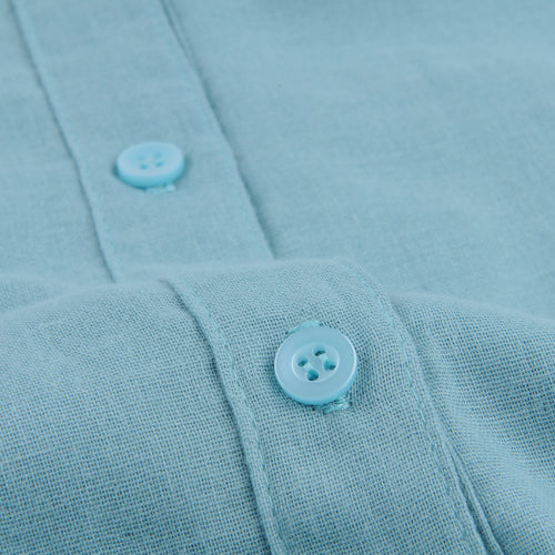 Atelier Shirt in Aqua Blue