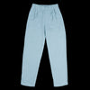 wrk-shp - Cotton Pant in Aqua Blue