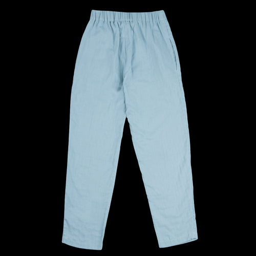 Cotton Pant in Aqua Blue