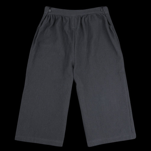 Waffle Apron Pant in Midnight Black