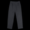 wrk-shp - Waffle Carrot Pant in Midnight Black