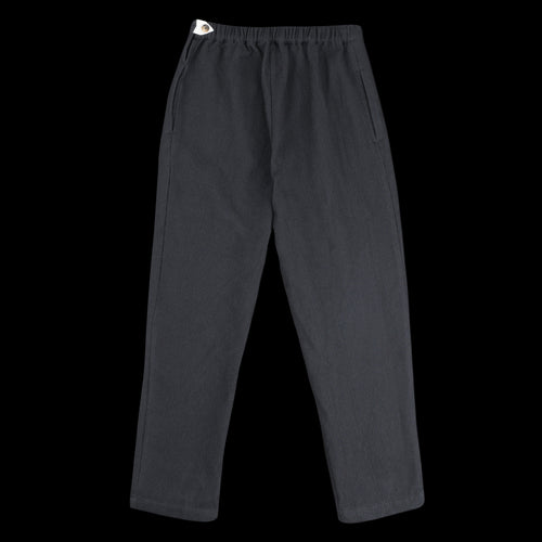 Waffle Carrot Pant in Midnight Black