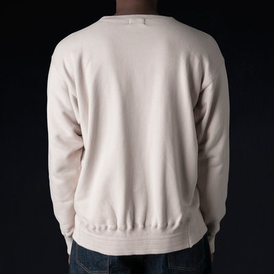 Chimala - 30/7 Fleece Sweatshirt in Pink Beige