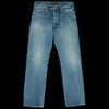 Chimala - 13.5oz Selvedge Denim Narrow Tapered Cut in Medium Distress